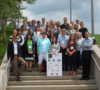 "The 32nd Annual Interdisciplinary Plant Group Symposium ""Plants Between a Rock and a Hard Place: The Interface Between Abiotic and Biotic Stress Responses"" was held May 27 - 29, 2015 in the Christopher S. Bond Life Sciences center on the University of Missouri campus in Columbia, MO. <br><br><a href=http://ipg.missouri.edu/feature-stories/32ndAnnu_070815.cfm>READ MORE>></a>"