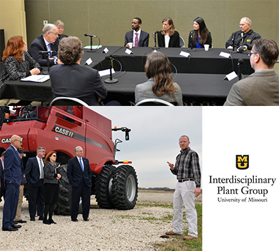 Missouri Governor Jay Nixon visited the Bradford Research Center on March 10, 2016 to highlight the excellence of plant science research and education at MU. <br><br><a href=https://ipg.missouri.edu/feature-stories/Governor_03212016.cfm>READ MORE>></a>