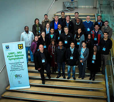MU's Interdisciplinary Plant Group (IPG) and the University of the Western Cape (UWC), Cape Town, held a joint Plant Science Symposium at UWC from June 15-18, 2015. <br><br><a href=http://ipg.missouri.edu/feature-stories/Universi_110115.cfm>READ MORE>></a>